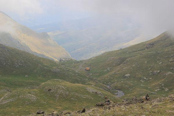Wanderung und Standplatz auf ca. 2200 m, Maniera
