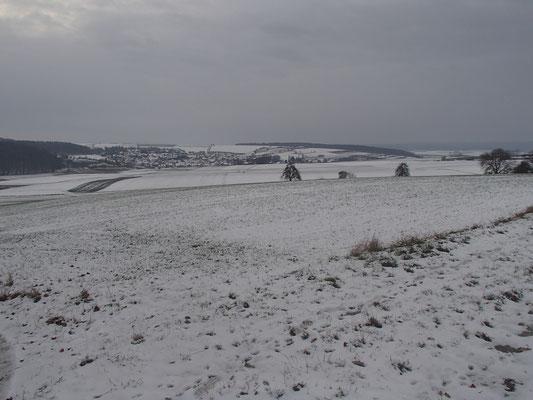 Winterspaziergang Wargolshausen
