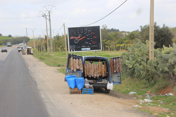Feigenverkauf kurz vor Meknes