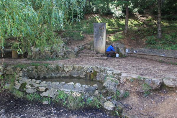 Wassertanken bei St.Joan de farcas