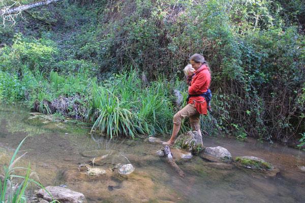 Dschungelcamp westl. von Ronda