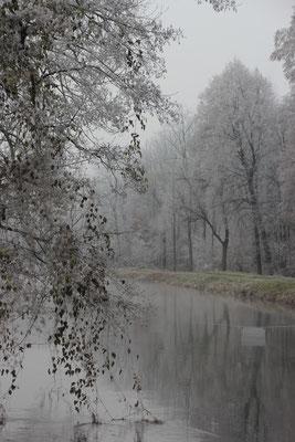 Winterstimmung Amper