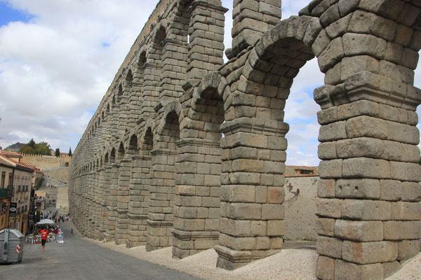 Äquadukt in Segovia