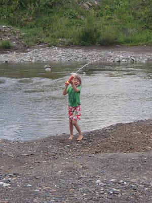 Neue Wasserspritze, Fluss Tara bei Koslin