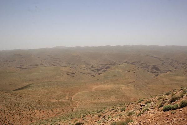 Blick vom Pass ca, 2900 m