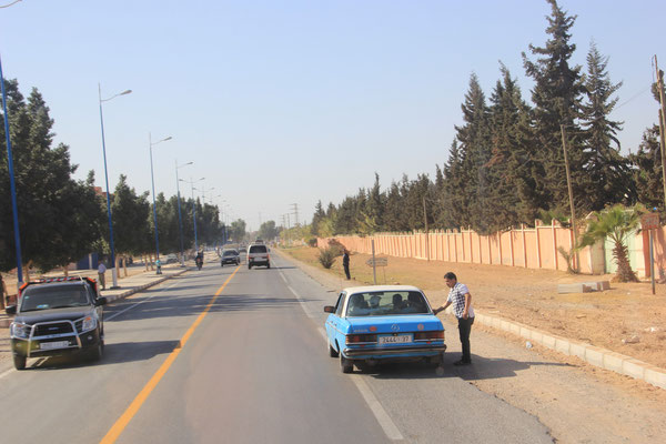 Taxi Richtung Agadir