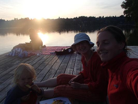 Abendstimmung am Pilsensee