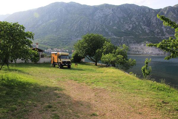 Autocamp Bucht von Kotor
