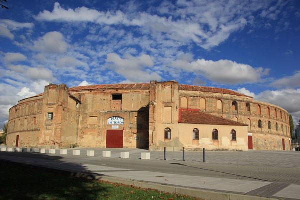 Plaza de torres, Segovia, Stellplatz