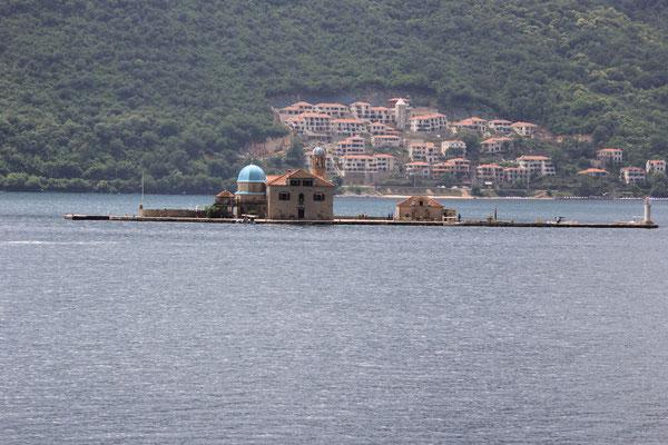 Klosterinsel, Bucht von Kotor