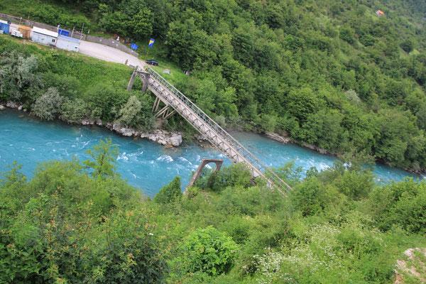 Brücke über die Tara zur Bosnischen Grenze