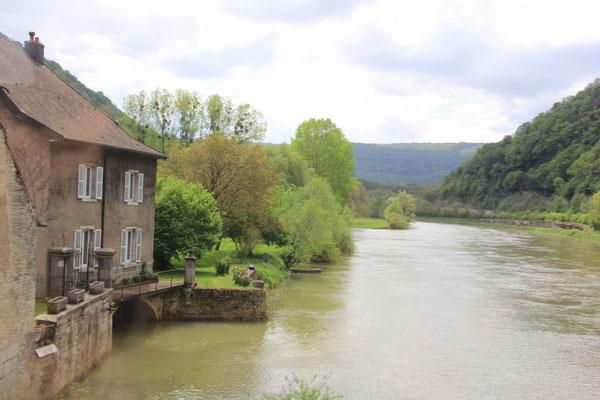 entlang der Doubs