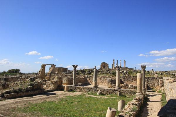 römische Ausgrabungsstätte Volubilis