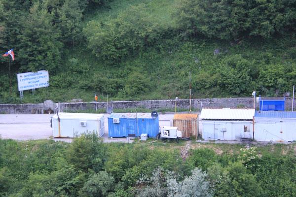 Grenze nach Bosnien
