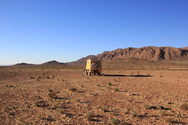 Standplatz Richtung Mengoub