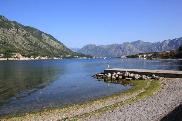 Bucht von Kotor in Kotor