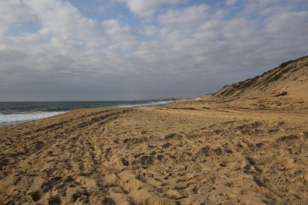 Strand Nähe Standplatz Labemme