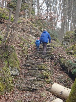 Wanderung Klamm Altmühl