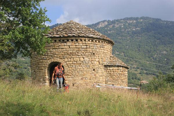 romanisches Kirchlein bei Pobla de lilet