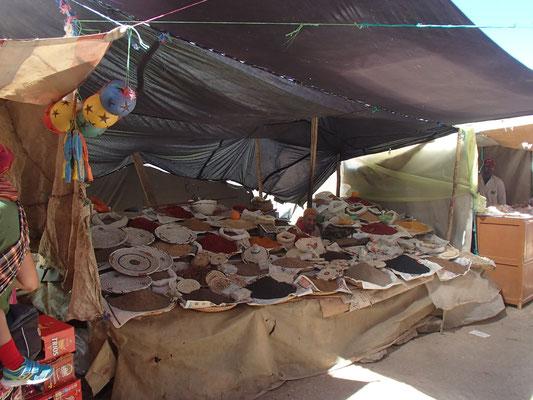 Gewürzstand, Souk, Tafraoute