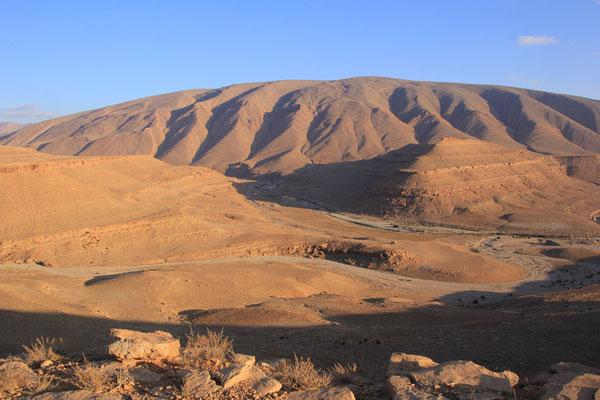 Standplatz Nähe Tamatouchte, Thodratal 1700 m