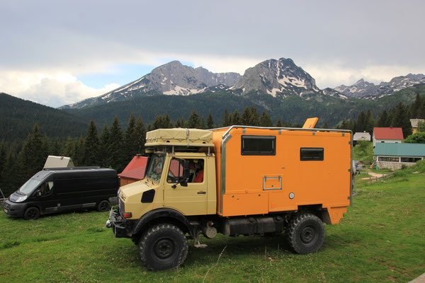 kleiner Campingplatz in Zabljak