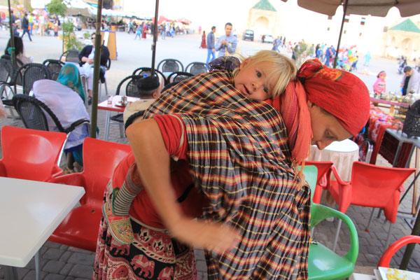 Pause für Sarah,Meknes