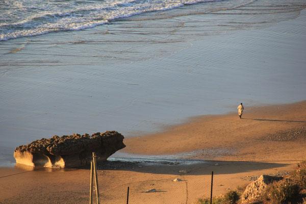 Abendstimmung am Strand von terre de ocean