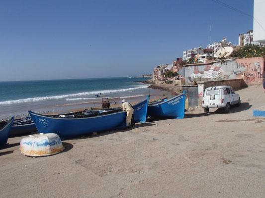 Fischerhafen von Thagazout