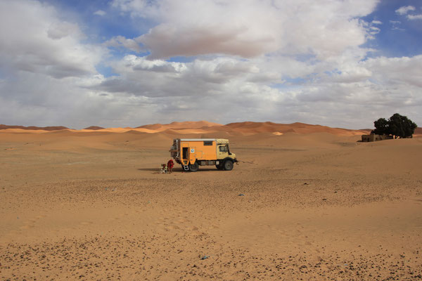 Standplatz Etoile de dune