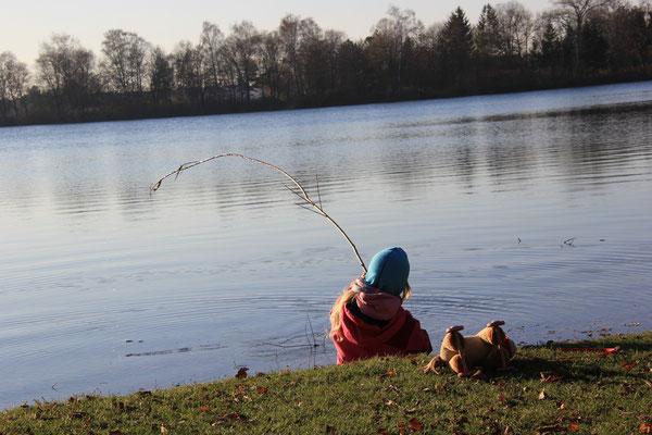 Olchinger See, beisst er an?