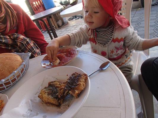 Fisch essen in Demnate