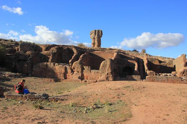 Thiermes, keltisch-iberisch und römische Siedlung