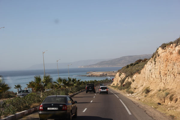 Richtung Thaghazoute