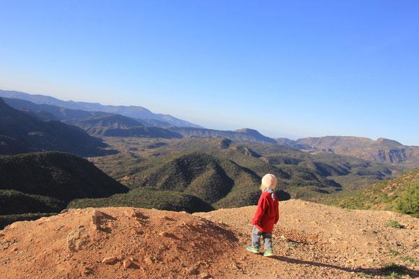 Sarah Standplatz Nähe Izzmour, 1100 m