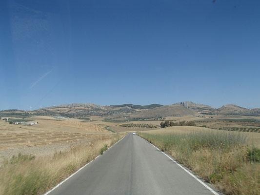 weiter gehts durch Spanien