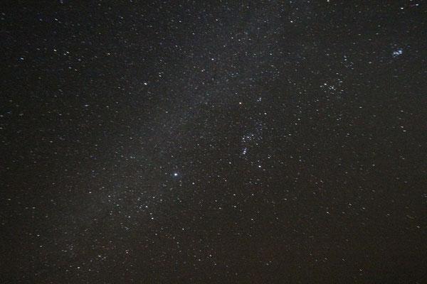 Sternenhimmel am 3. Standplatz, Piste Foum-Zguid - Mhamid
