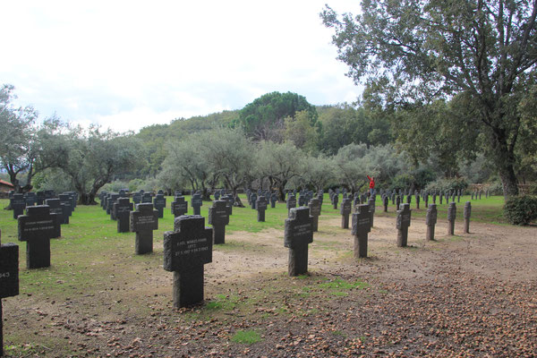 deutscher Soladtenfriedhof, Cuseco de Yuste