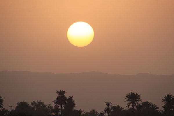 Sonnenaufgang am Ramadanende
