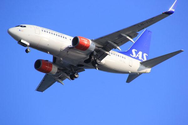 Anflug auf Flughafen Trogir/Split