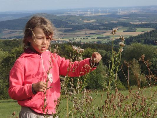 Sarah in der Rhön