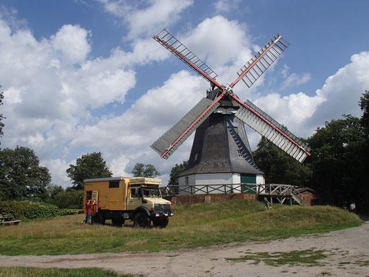 Mühle in Worpswede nördl. v. Bremen