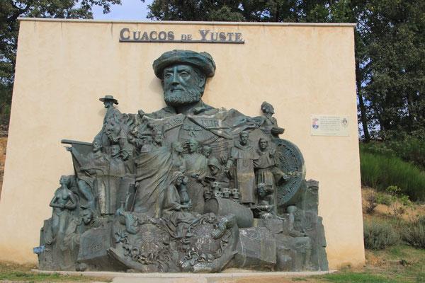 Skuulptur Kaiser Karl der V., Cuesco de Yuste