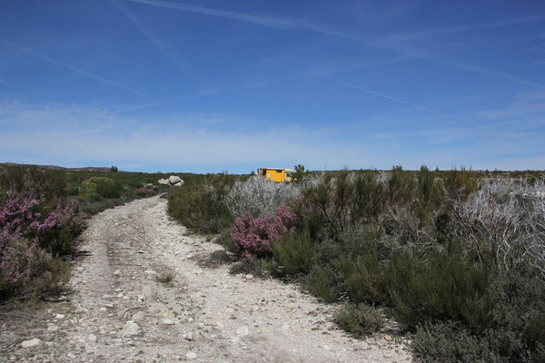 Standplatz 1700 m, offroad, Nähe Manteigas,Sierra Estrella