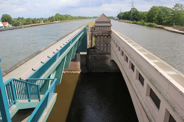 Wasserstrassenkreuzung Mittellandkanal - Weser