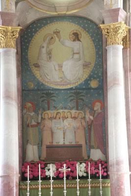 Altarbild, Kloster Beuron