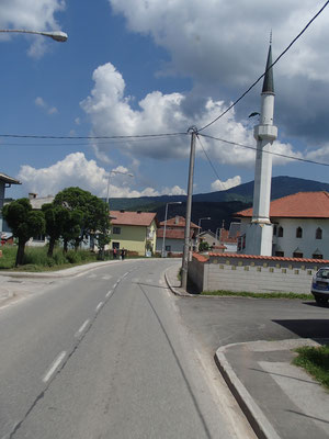 durch Bosnien-Herzegowina