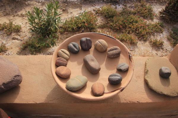 die ersten Semmeln, Museum Zaid, Steinzeit
