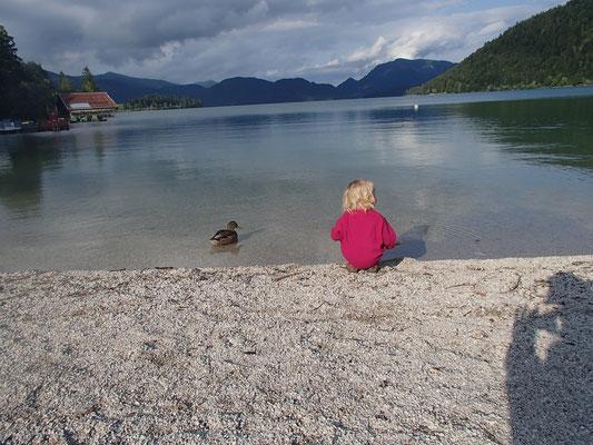 Sarah am Walchensee