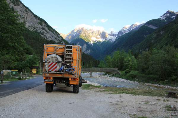 Socciatal, Slowenien unterhalb Vrsic-Pass
